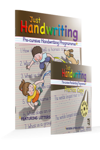 Just Handwriting *PRE-CURSIVE 2nd Class (incl Free Practice Copy)