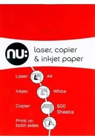 Nu:co Ream A4 70gsm Copier Paper