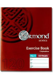 Ormond 120pages No.11 Exercise Books (Staplebound Paperback)