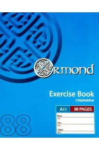 Ormond Pkt.10 88 pages A11 Exercise Books (Staplebound Paperback)