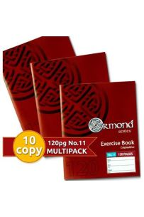 Ormond Pkt.10 120pages No.11 Exercise Books (Staplebound Paperback)
