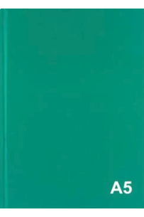 Premier A5 160pg Hardcover Notebook - Bold