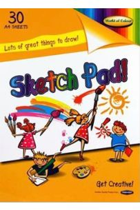 Sketch Pad A4 30 sheets (Pack of 5)