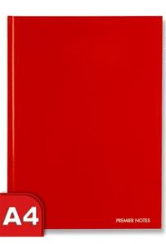 Premier A4 160pg Hardcover Notebook - Prism 3 Asst