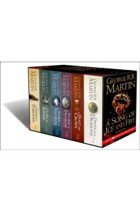 A Game of Thrones: The Story Continues [Export only] : The Complete Boxset of All 6 Books
