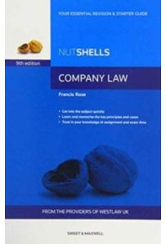 Nutshells Company Law (9th Edition)