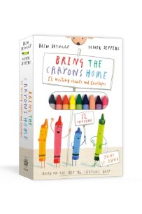 Bring the Crayons Home : A Box of Crayons, Letter-Writing Paper, and Envelopes