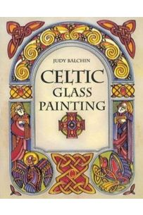 Celtic Glass Painting
