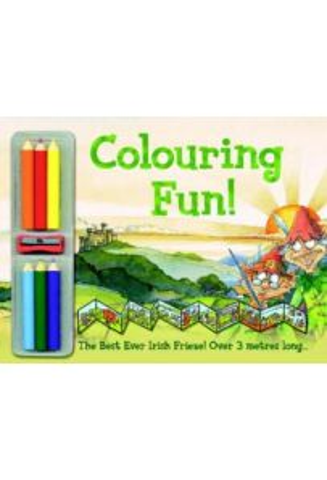 Colouring Fun: Best Ever Irish Frieze