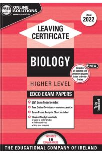 Edco Exam Papers: Biology Higher & Ordinary Levels (Leaving Cert 2022)