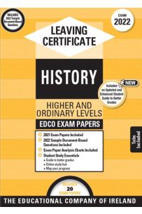Edco Exam Papers: History Higher & Ordinary Levels (Leaving Cert 2022)