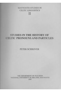 Studies in the History of Celtic Pronouns and Particles ( Maynooth Studies in Celtic Linguistics II)