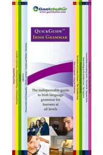 QuickGuide Irish Grammar: The Indispensable Guide to Irish Language Grammar for Learners at All Levels