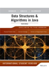 Data Structures and Algorithms in Java (6th Edition International Student Version)