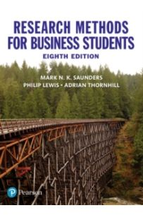 Research Methods for Business Students (8TH ED)