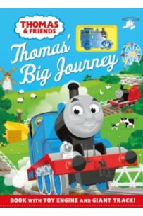 Thomas & Friends: Thomas' Big Journey : Book with Toy Engine and Giant Track!