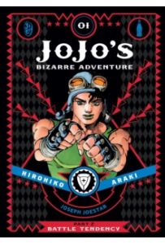 JoJo's Bizarre Adventure: Part 2 Battle Tendency, Volume 01