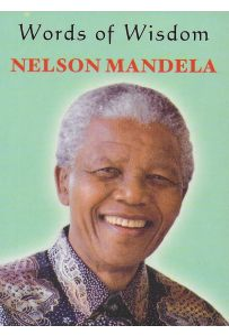 Words of Wisdom: Nelson Mandela (Mini Book)