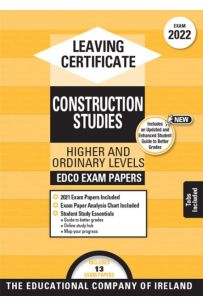 Edco Exam Papers: Construction Studies Higher & Ordinary Levels (Leaving Cert 2022)