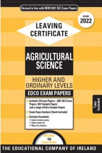 Edco Exam Papers: Agricultural Science Higher & Ordinary Levels (Leaving Cert 2022)