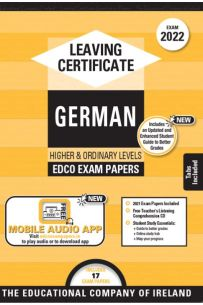 Edco Exam Papers: German Higher & Ordinary Levels (Leaving Cert 2022)