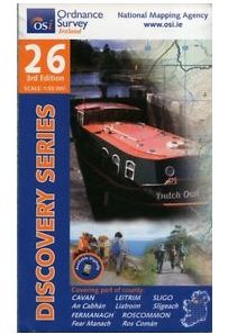 Discovery Series 26 Cavan, Fermanagh, Leitrim, Roscommon, Sligo