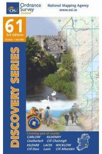 Discovery Series 61 Carlow, Kildare 3rd Edition