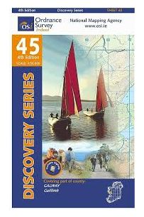 Discovery Map 45 Galway (Irish Discovery Series)