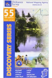 Kildare, Laois, Offaly, Wicklow (Discovery Series 55)