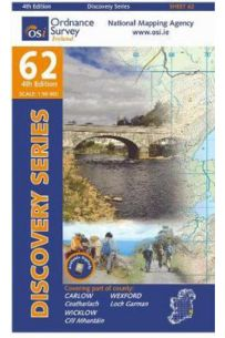 Carlow, Wexford, Wicklow (Discovery Series 62 4th Edition)