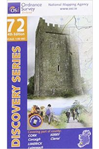 Kerry, Cork, Limerick (Discovery Series 72 4TH Edition)