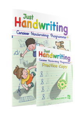 Just Handwriting : Cursive Handwriting Programme - Senior Infants
