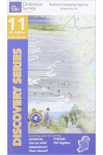Discovery Series 11 - Donegal, Fermanagh And Tyrone, 4TH Edition