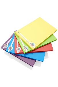 Premto A5 160pg Hardcover Notebooks S-1 5 Assorted