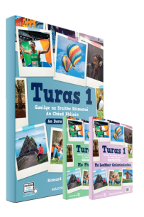 Turas 1 - Textbook, Portfolio/Activity Book (Combined) - Set - New / Second Edition (2021)