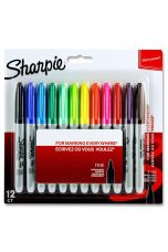 Sharpie Card 12 Fine Markers : For Marking Everywhere