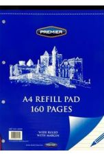 Premier A4 160pg Refill Pad - Top (Pack of 10 Pads)