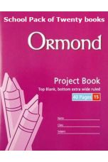 Ormond Project Book (40pg, No 15)(Pack of 20 Books)