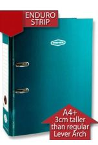 Premier Premtone A4+ Lever Arch File With Enduro Strip 5 Asst.