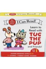 Learn to Read with Tug the Pup and Friends! Box Set 1 : Levels Included: A-C