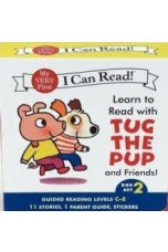 Learn to Read with Tug the Pup and Friends! Box Set 2 : Levels Included: C-E