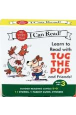 Learn to Read with Tug the Pup and Friends! Box Set 3 : Levels Included: E-G