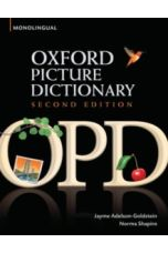 Oxford Picture Dictionary Second Edition: Monolingual (American English) Dictionary for Teenage and Adult Students