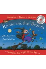 Room on the Broom: Book plus interactive CD to play on your PC