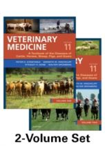 Veterinary Medicine : A textbook of the diseases of cattle, horses, sheep, pigs and goats - two-volume set