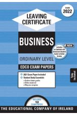 Edco Exam Papers: Business Ordinary Level (Leaving Cert 2022)