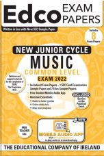 Edco Exam Papers: Music Common Level Papers (New Junior Cycle Exam 2022)