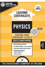 Edco Exam Papers: Physics Higher & Ordinary Levels (Leaving Cert 2022)