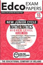 Edco Exam Papers: Maths Higher Level Papers (New Junior Cycle Exam 2022)