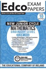 Edco Exam Papers: Maths Ordinary Level Papers (New Junior Cycle Exam 2022)